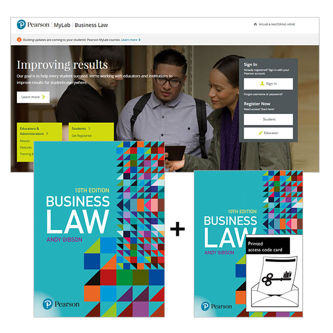 Business Law + MyLab Business Law with eText