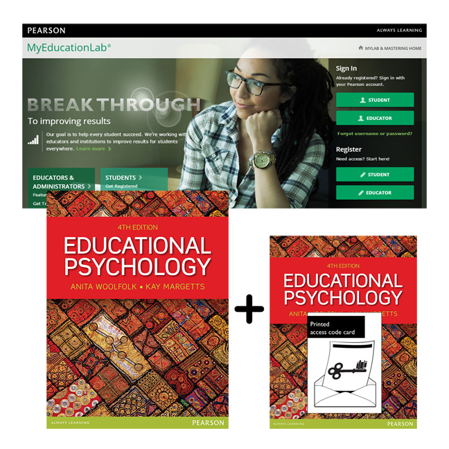 Value Pack Educational Psychology + MyEducationLab with eText
