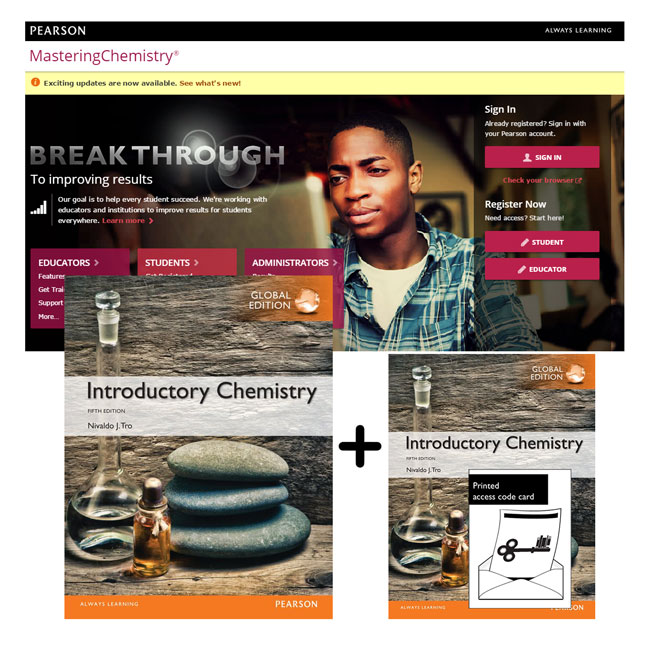 Introductory Chemistry, Global Edition + Modified Mastering Chemistry with eText