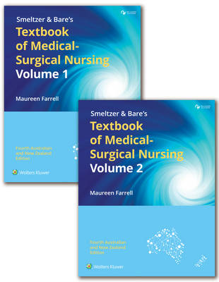Smeltzer and Bare's Textbook of Medical-Surgical Nursing 2 Volume Set 4E ANZ + ANZ Nursing and Midwifery Drug Handbook 7E Value Pack