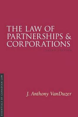 The Law of Partnerships and Corporations