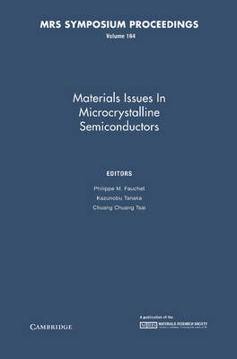 Materials Issues in Microcrystalline Semiconductors