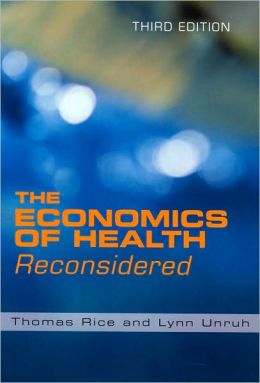 The Economics of Health Reconsidered