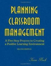Planning Classroom Management