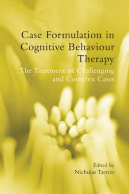 Case Formulation in Cognition Behavioural Therapy