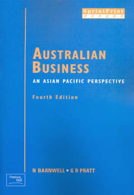 Australian Business: an Asian Pacific Perspective: An Asian Pacific Perspective