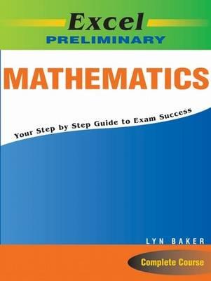 Excel Prelim Maths Study Guide Yr 11
