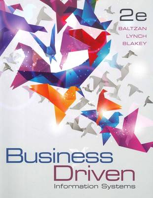 Business Driven Information Systems 2nd Edition