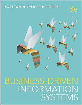 Business-Driven Information Systems 3rd Edition + Connect Value Pack