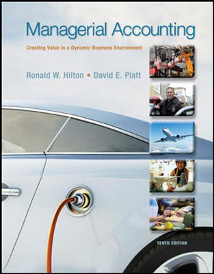 EP Managerial Accounting + CNCT 10e