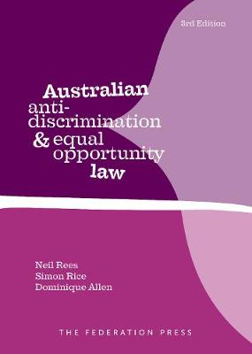 Australian Anti-Discrimination and Equal Opportunity Law