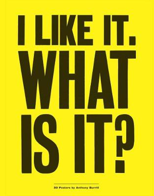 I Like it. What is It?: 30 Posters by Anthony Burrill