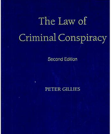 The Law of Criminal Conspiracy