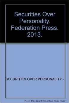 Securities over Personalty