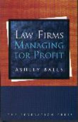 Law Firms - Managing for Profit