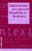 Explorations on Law and Disability in Australia