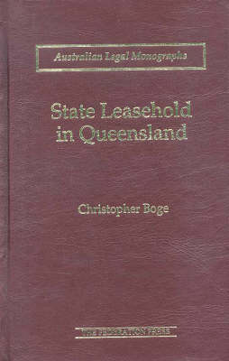 State Leasehold in Queensland