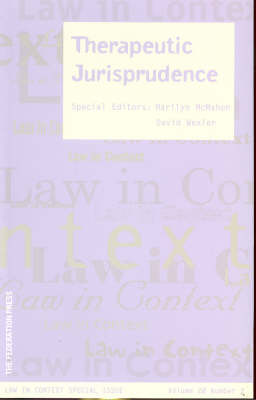 Therapeutic Jurisprudence