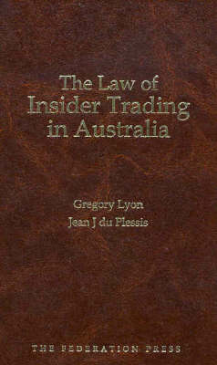 The Law of Insider Trading in Australia