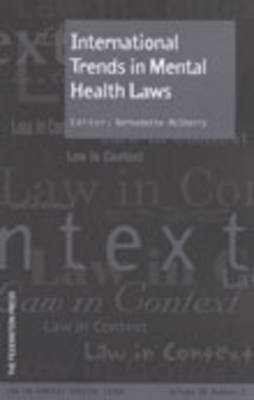 International Trends in Mental Health Laws