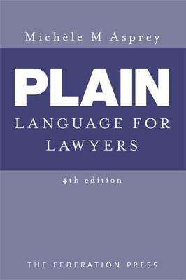 Plain Language for Lawyers 4E