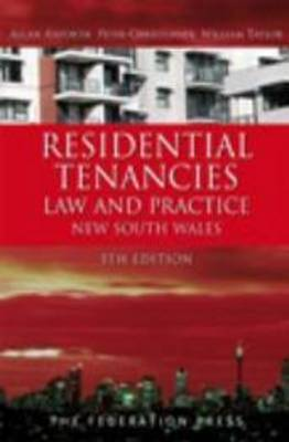 Residential Tenancies Law and Practice: New South Wales