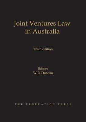 Joint Ventures Law in Australia
