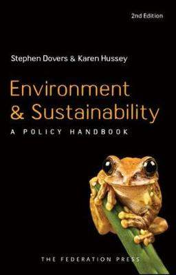 Environment and Sustainability Policy : A Policy Handbook