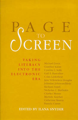 Page to Screen: Taking Literacy into the Electronic Era