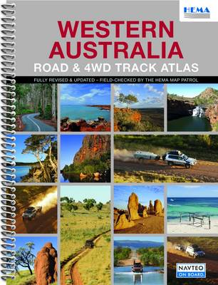Western Australia Road and 4WD Track Atlas: HEMA.A.DIS28SP