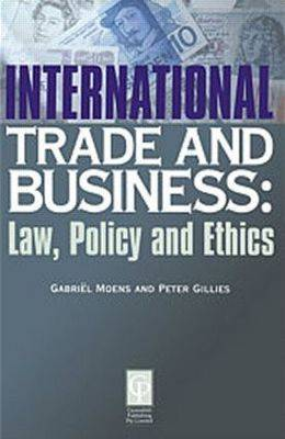 International Trade and Business Law and Policy