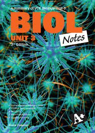 Biology Notes Units 3&4