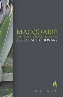 Macquarie Essential Dictionary