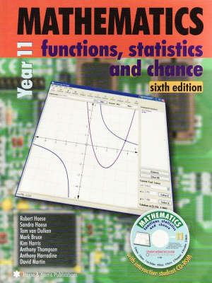 Mathematics for Year 11 and 12: Functions, Statistics and Chance