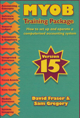 Myob Training Package V15 Set Up And Operate Computerised  Accounting System