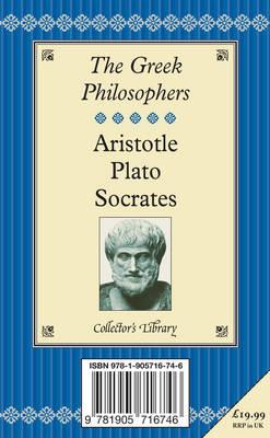 Aristotle, Plato and on Socrates