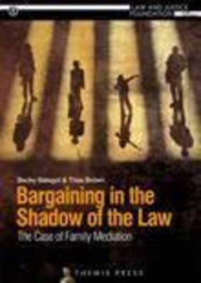 Bargaining in the Shadow of the Law: The Case of Family Mediation