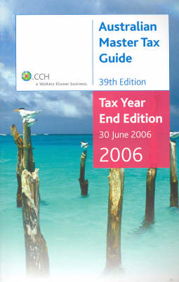 Australian Master Tax Guide: Cch Product Code 34034a