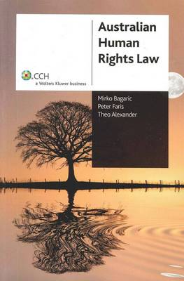 Australian Human Rights Law: CCH Code 39231A