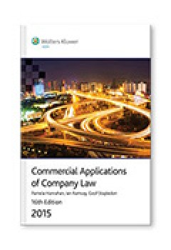 Commercial Applications of Company Law 2015 E-Text