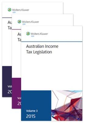 Australian Income Tax Legislation 2015