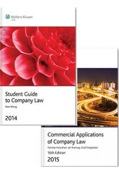 Pack: Commercial Applications of Company Law 2015 + Student Guide to Company Law
