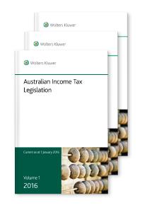 Australian Income Tax Legislation 2016