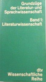 Grundzuge Der Literatur Und Sprachwissenschaft V1