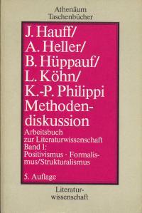 Methodendiskussion Arbeitsbuch Zur Literaturwissenschaft V1