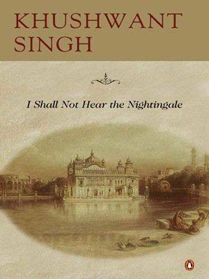 I Shall Not Hear the Nightingale