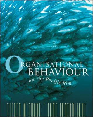 Organisational Behaviour on the Pacific Rim