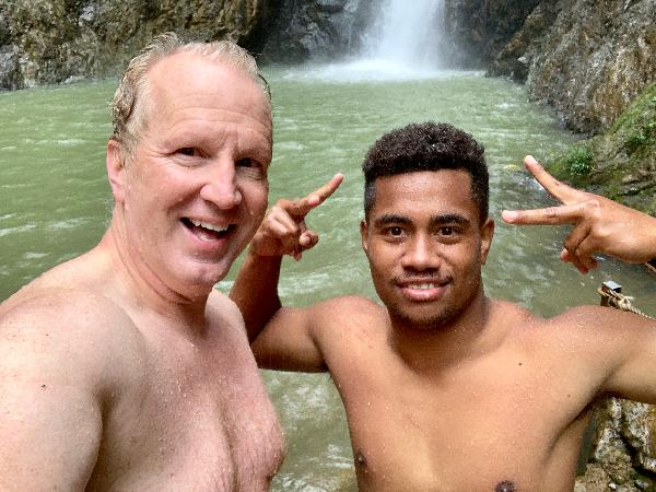 Todd and The best guide in Fiji . . Ben!!