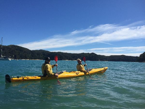 Kayaking in Abel Tasman