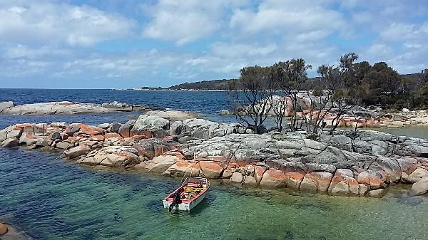 Wonderful day at Bay of Fires!